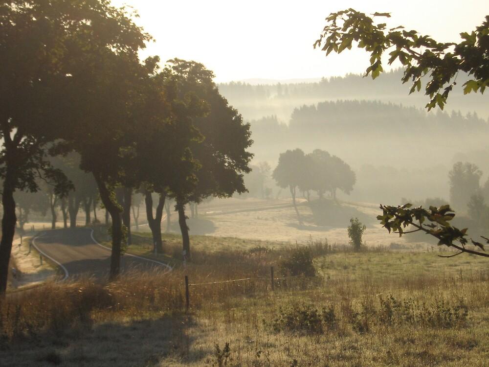 misty september morning by dankeanke