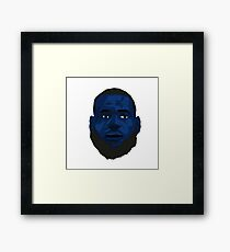 King Lebron James Framed Print