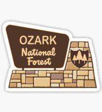 Ozark National Forests Sticker