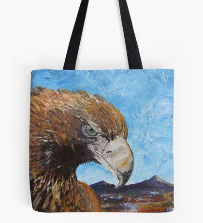 Eagle with Attitude Tote Bag