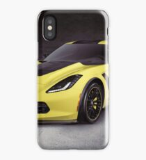 2016 Chevrolet Corvette Z06 coupe sports car art photo print iPhone Case/Skin