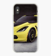 2016 Chevrolet Corvette Z06 coupe sports car art photo print iPhone Case