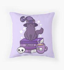 Feline Familiar 02 Throw Pillow