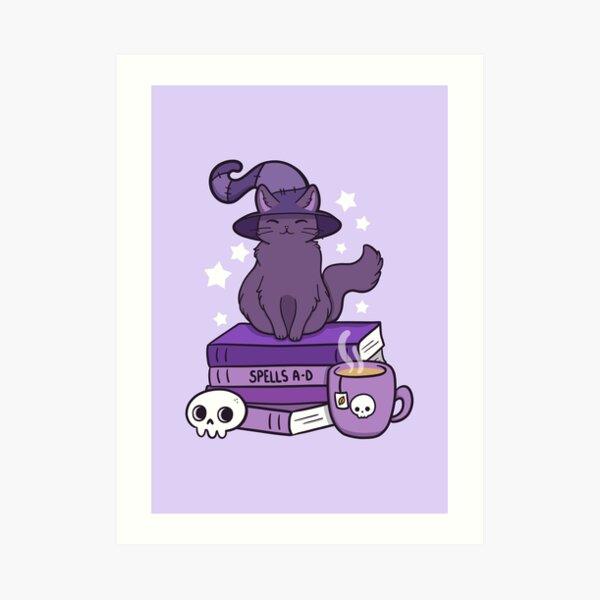 Feline Familiar 02 Art Print