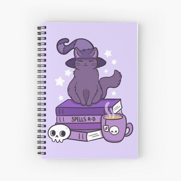 Feline Familiar 02 | Nikury Spiral Notebook