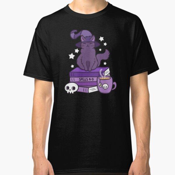 Feline Familiar 02 // Black Classic T-Shirt