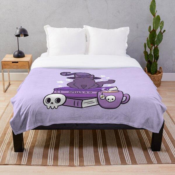 Feline Familiar 02 Throw Blanket