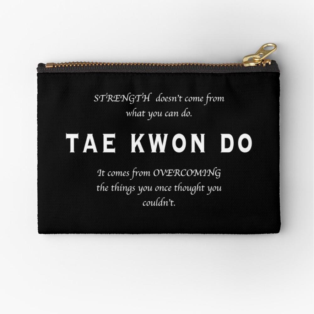 Cita Inspirada de Tae Kwon Do Bolsos de mano