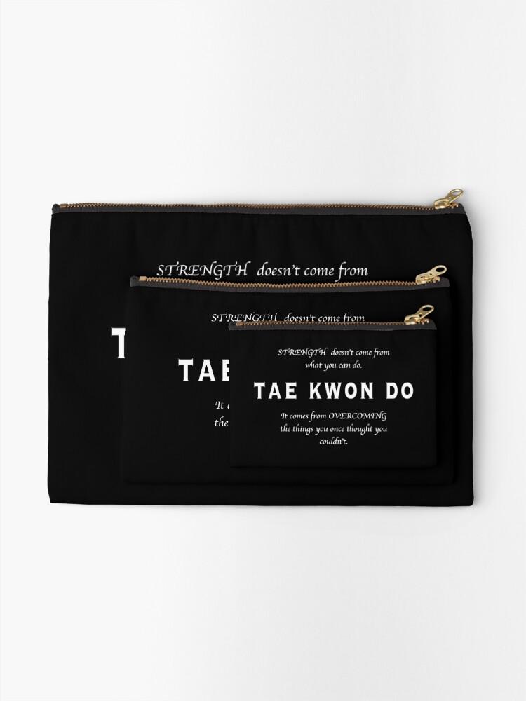 Vista alternativa de Bolsos de mano Cita Inspirada de Tae Kwon Do
