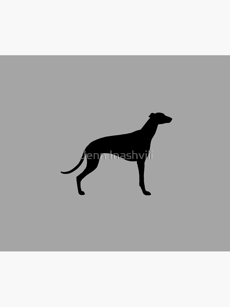 Greyhound Silhouette(s) by ShortCoffee