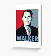 Scott Walker 2016 Greeting Card