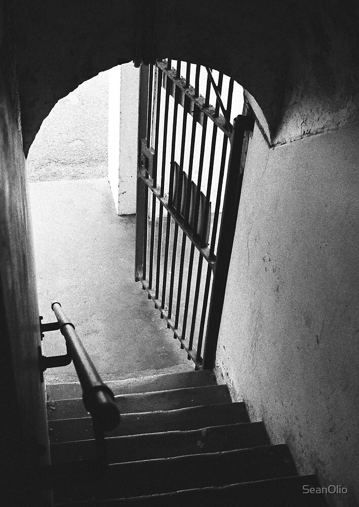 Old Gaol Stairs by SeanOlio