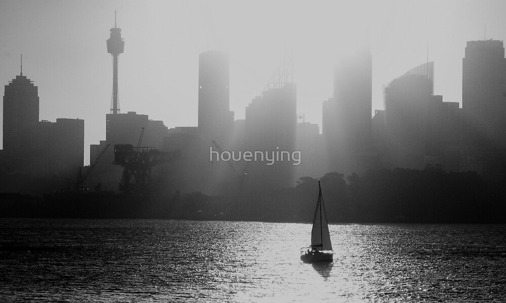 The light of the city by houenying