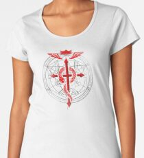 Fullmetal Alchemist Flamel Women's Premium T-Shirt
