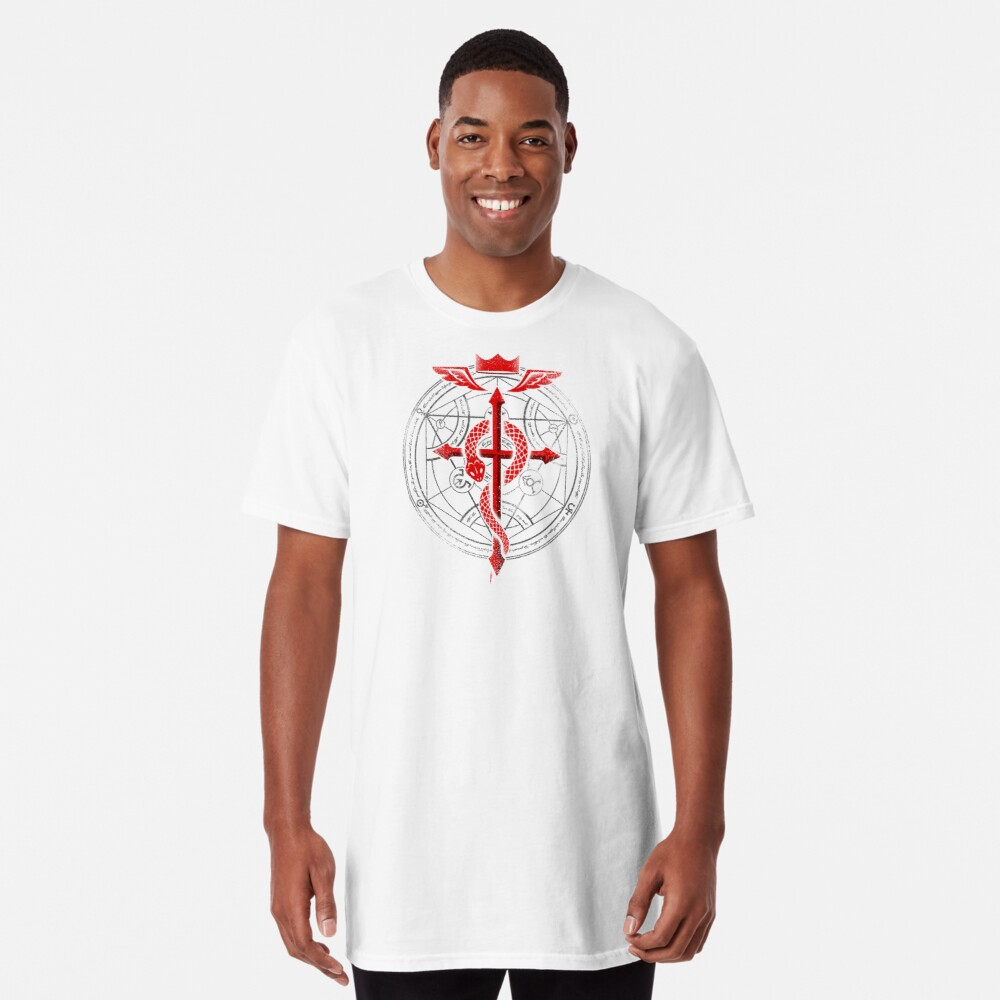Fullmetal Alchemist Flamel Long T-Shirt