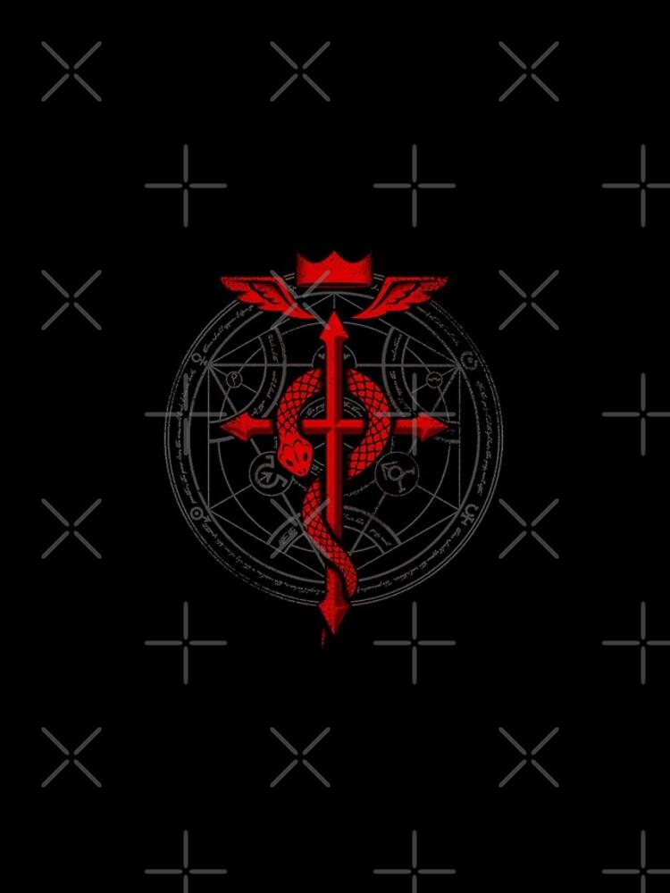 Fullmetal Alchemist Flamel de RevolutionGFX