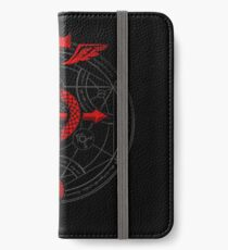 Fullmetal Alchemist Flamel iPhone Wallet/Case/Skin