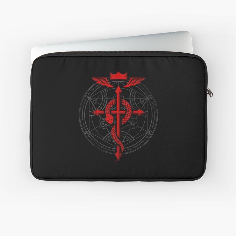 Fullmetal Alchemist Flamel Laptop Sleeve