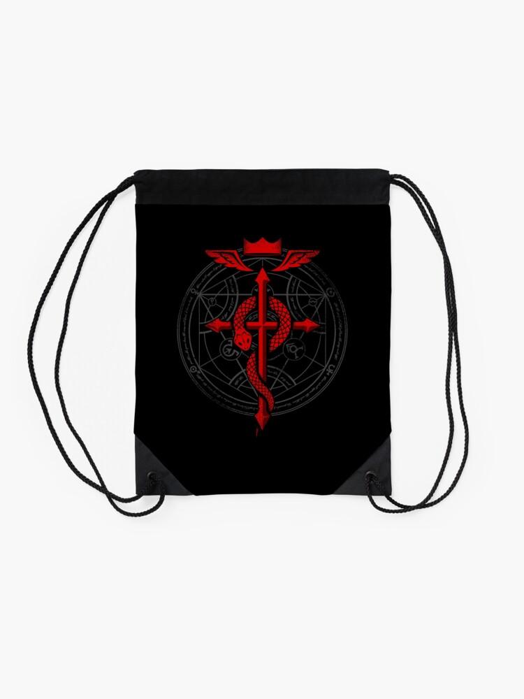 Alternate view of Fullmetal Alchemist Flamel Drawstring Bag