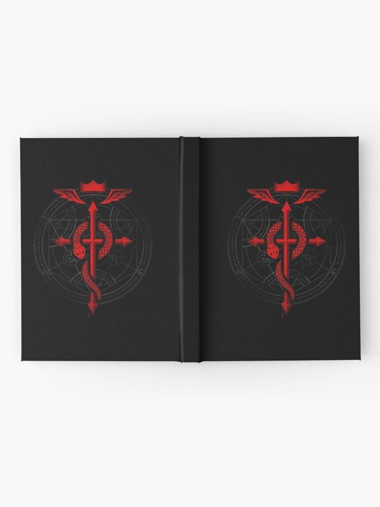 Alternate view of Fullmetal Alchemist Flamel Hardcover Journal