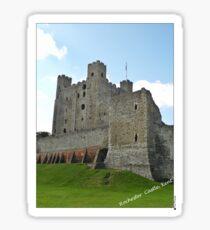 Rochester Castle Sticker
