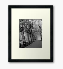 December - Lucca Framed Print