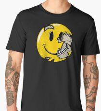 Smiley face skull Men's Premium T-Shirt