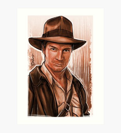 Indiana Fillion Art Print