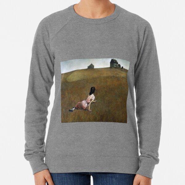 Christina's World- Andrew Wyeth Lightweight Sweatshirt