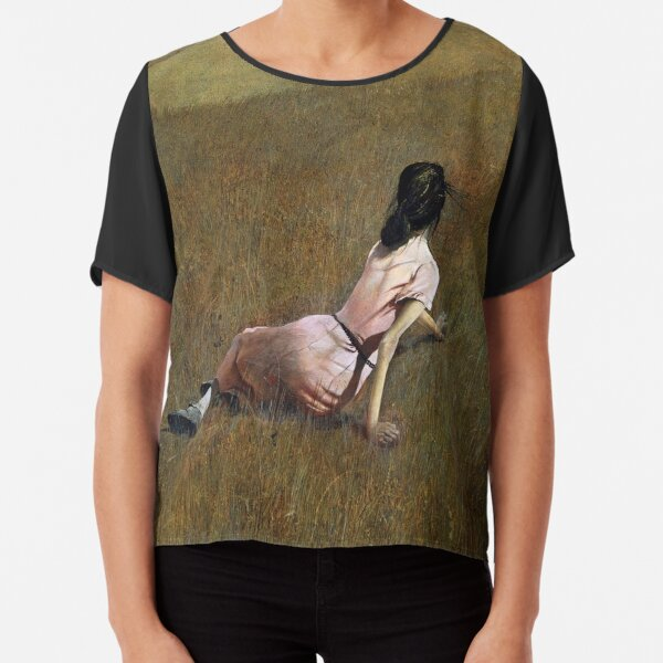 Christina's World- Andrew Wyeth Chiffon Top
