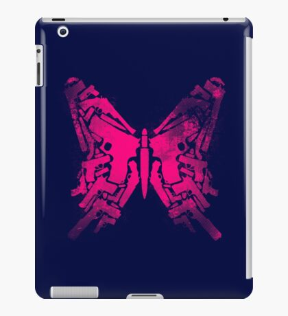 Gun Butterfly iPad Case/Skin