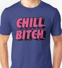 Camiseta unisex Chill Pink Fuente Kylie Quote