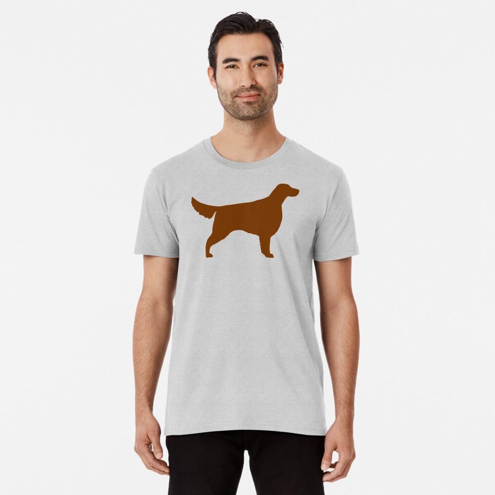 Irische Setter Silhouette (n) Premium T-Shirt