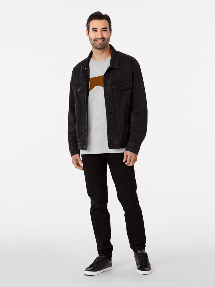 Alternative Ansicht von Irische Setter Silhouette (n) Premium T-Shirt