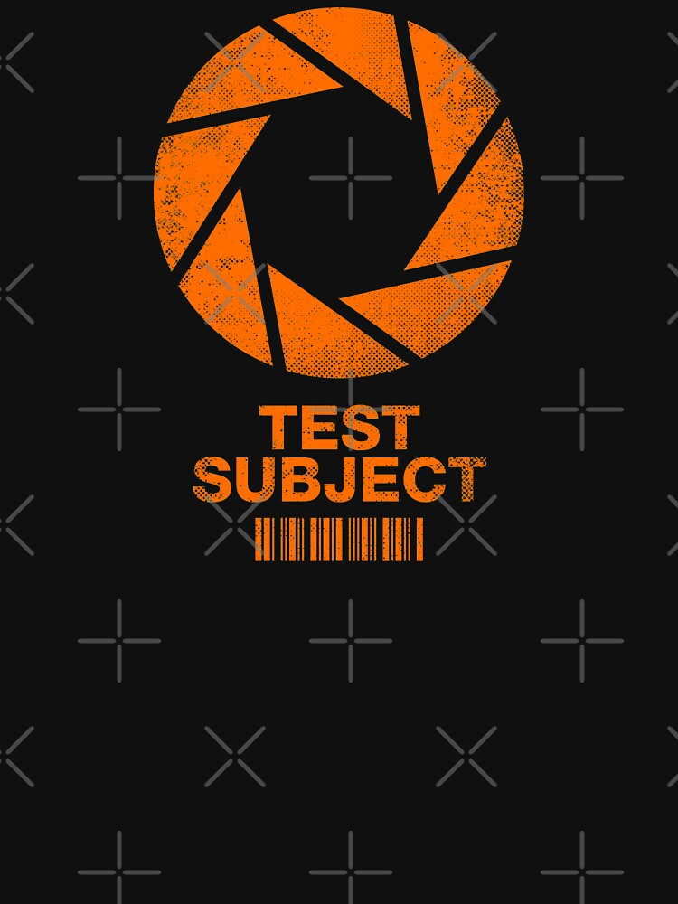 Test Subject - Orange by RevolutionGFX