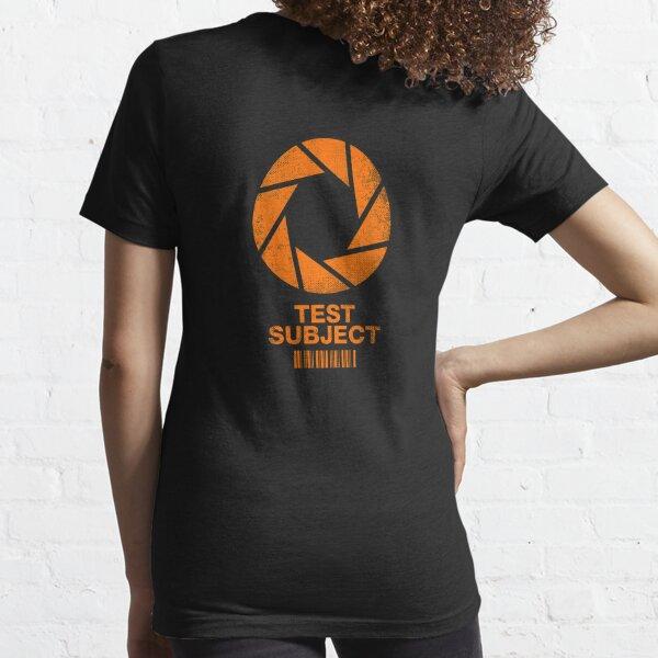 Testperson - Orange Essential T-Shirt