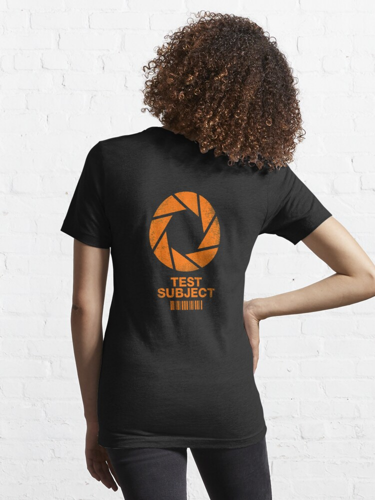 Alternate view of Test Subject - Orange Essential T-Shirt