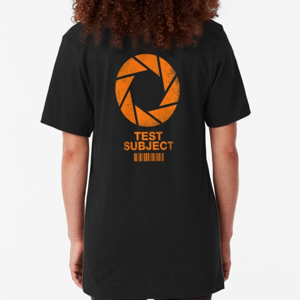 Test Subject - Orange Slim Fit T-Shirt