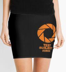 Test Subject - Orange Mini Skirt