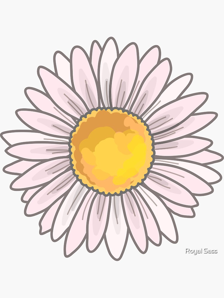 Pink Daisy by theroyalsass