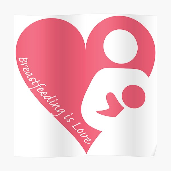 Breastfeeding Posters Redbubble