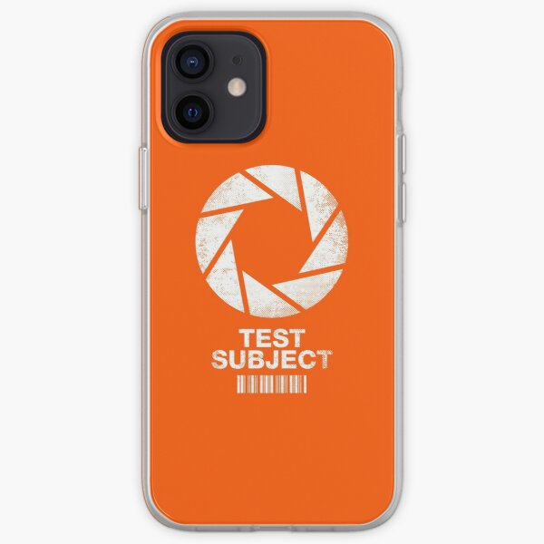 I was a Test Subject iPhone Soft Case