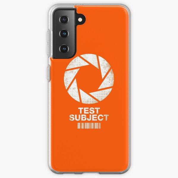 I was a Test Subject Samsung Galaxy Soft Case