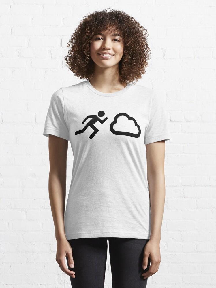 T-shirt essentiel ''Cloud Chaser': autre vue
