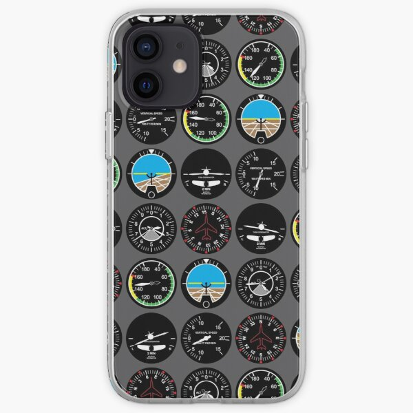 Instruments de vol Coque souple iPhone