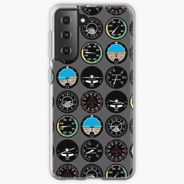 Flight Instruments Samsung Galaxy Soft Case