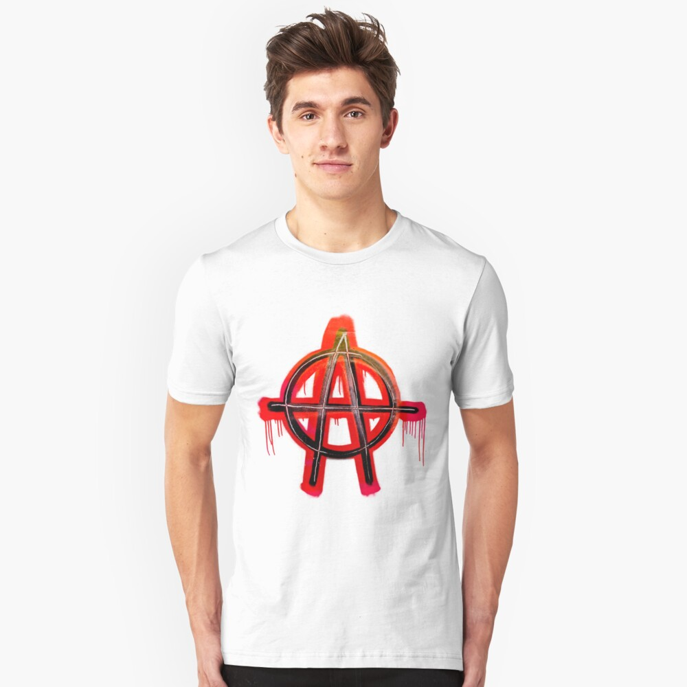 Anarchy Tee  Unisex T-Shirt Front