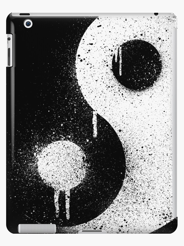 Graffiti Zen Master - Spray paint yin yang by R-evolution GFX