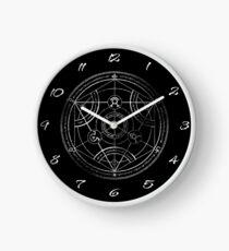 Human transmutation circle - chalk Clock