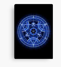 Human Transmutation Circle Canvas Print